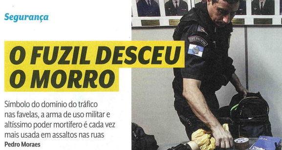 O Fuzil desce o morro (Revista Veja)