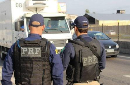 PRF deflagra operação para combater roubos de cargas