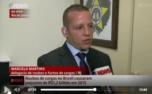 Prejuízo com roubos de carga passou de R$ 1,2 bilhão no Brasil em 2015 e será maior em 2016.