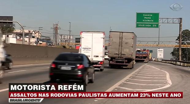 Roubo de carga aumenta 23% em 2017 – SP