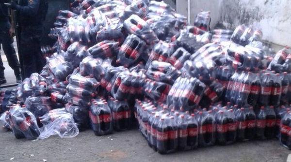Polícia Militar recupera carga de refrigerante roubada no Lins, zona Norte do Rio