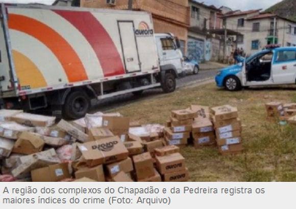 Em protesto contra roubo de cargas empresários prometem suspender entregas