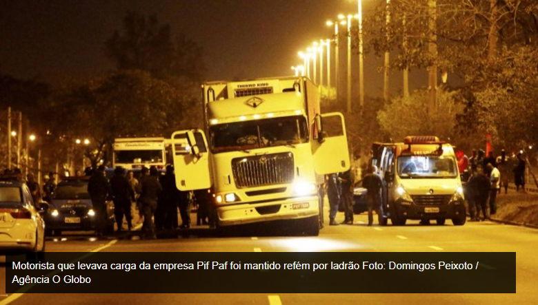 'Se tivesse minha carreta, nunca viria para o Rio', diz motorista de caminhão sequestrado – RJ