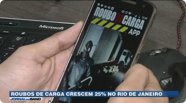 Jornal da Band – Um aplicativo que mapeia esse tipo de ataque, e os pontos de atuação.