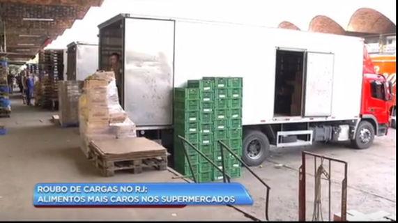 Roubos a cargas aumentam os preços dos alimentos em até 20%, segundo a ASSERJ