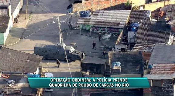 Polícia realiza megaoperação de combate a roubo e receptação de cargas no RJ