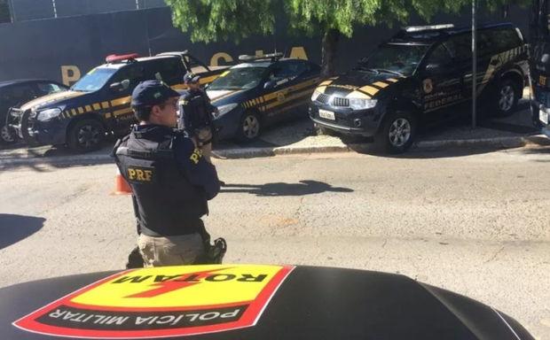 Operação contra roubo de cargas  busca prender 40 em 5 estados e DF