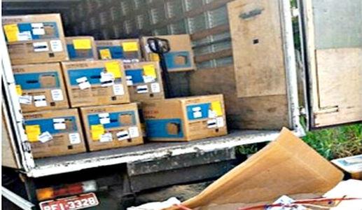 Minas está em terceiro lugar no ranking de carga roubada no país