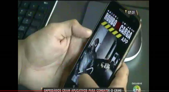 Empresários criam aplicativos para ajudar o Estado no combate a roubos de cargas