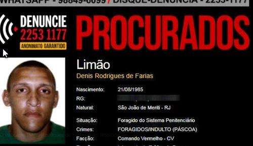 Polícia Civil prende no DF chefe do tráfico e do roubo de cargas em morro do Rio