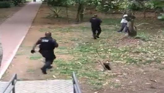 Policias procuram suspeitos de roubar caminhão de carga próximo ao campus da UFRJ