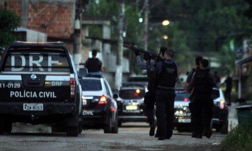Polícia Civil do Rio faz megaoperação para prender suspeitos de roubos de carga