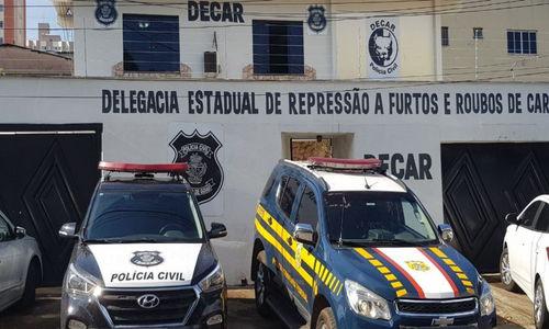 Desarticulado grupo especializado no desvio de cargas alimentícias em Goiás