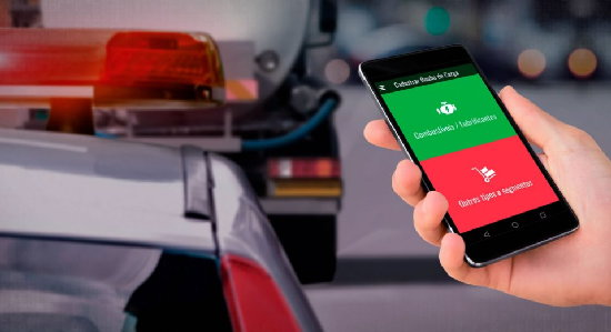 Caminhão que transportava combustível é recuperado com ajuda do app 'Roubo de Carga'