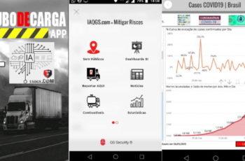 APP Roubo de Carga agora está integrado com QGSBi e pode ser acessado diretamente em iaqgs.com