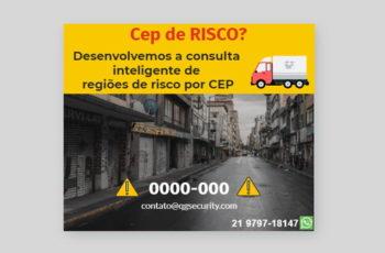 Pandemia do coronavírus faz e-commerce explodir no Brasil. Com isso os ceps de riscos se atualizam mensalmente.