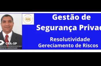 Se inscreva no canal do Youtube do professor Teanes Silva – ASE | Especialista em Gestão de Segurança e Riscos