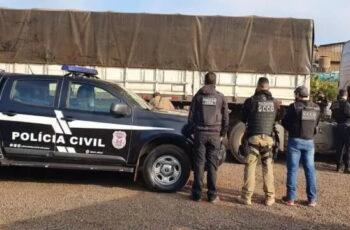 A Polícia Civil de Mato Grosso prendeu o último integrante de uma organização criminosa envolvida em furtos e roubos de cargas de grãos…